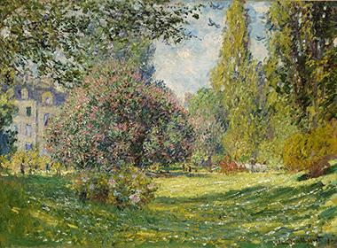 Landscape, The Parc Monceau